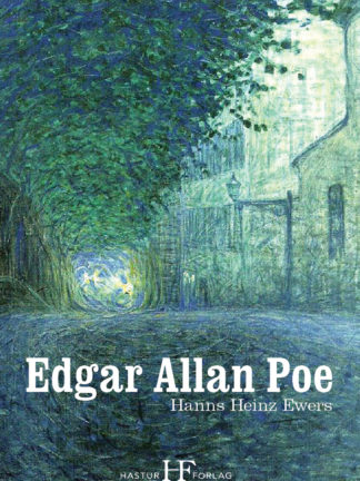 Omslag: Hanns Heinz Ewers - Edgar Allan Poe